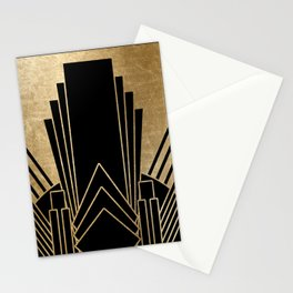 Art deco design Stationery Cards