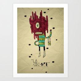 the Cyclops Art Print