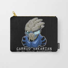 Garrus Vakarian Is My Space Boyfriend Carry-All Pouch