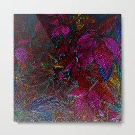 Strange Leaves Metal Print