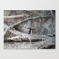 Wood Love Ivy  Canvas Print