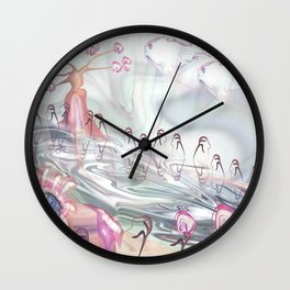 Portrait Landscaped  Wall Clock