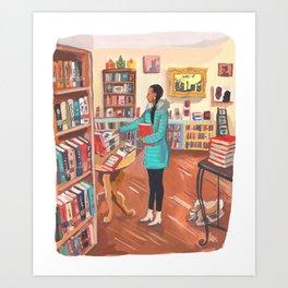 Word Up Books Art Print
