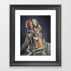 Out Of Business Framed Art Print