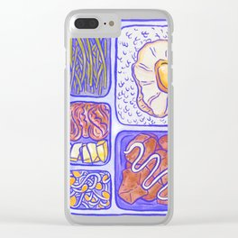 Lunch box Clear iPhone Case