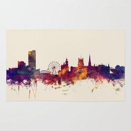 Sheffield England Skyline Rug