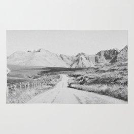 ON THE ROAD XXI / Scotland Rug