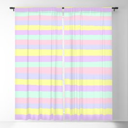 lumpy or bumpy lines abstract - QAB283 Blackout Curtain