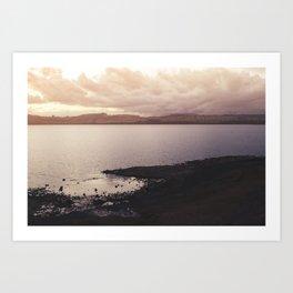 Taupo Art Print
