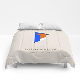 Eastern Bluebird Comforters