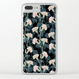 carnation Clear iPhone Case
