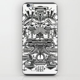 AZTEC MASK iPhone Skin