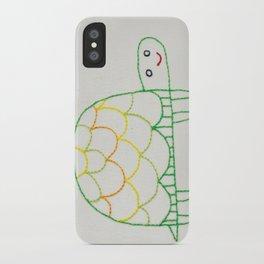 T Turtle iPhone Case