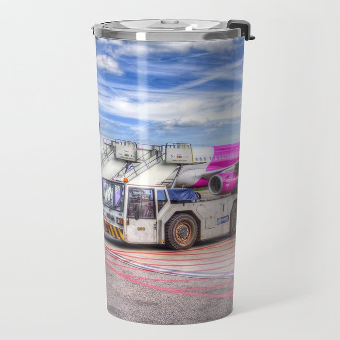 Wizz Air Aircraft Travel Mug