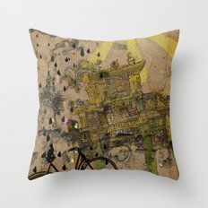 Chastity arch Throw Pillow