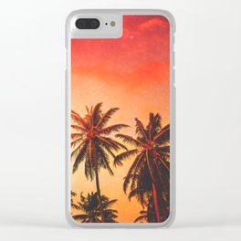 Jozi's Fire Clear iPhone Case