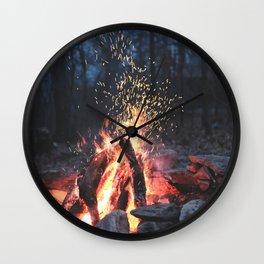 Fogo Wall Clock