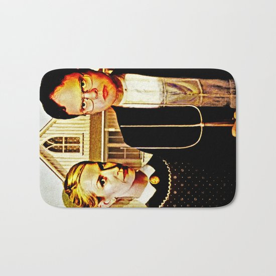 Dwight Schrute & Angela Martin (The Office: American Gothic) Bath Mat