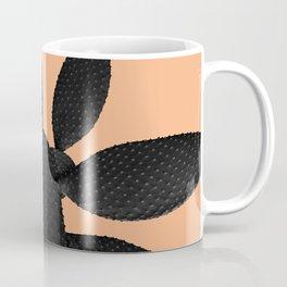 Black Pastel Orange Cacti Vibes #1 #plant #decor #art #society6 Coffee Mug