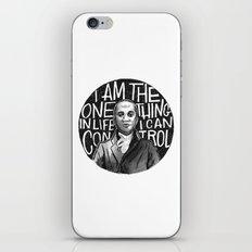 Wait For It [Aaron Burr] iPhone & iPod Skin