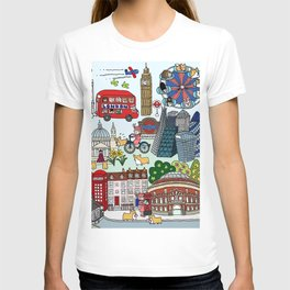 The Queen's London Day Out T-shirt