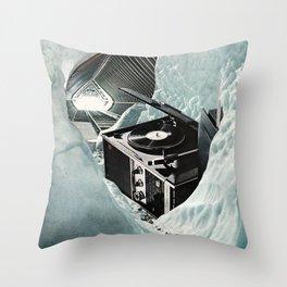 Cold Soundz Throw Pillow