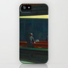 NIGHTHAWKS - EDWARD HOPPER iPhone Case