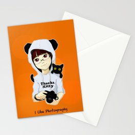 thanks kitty - i like photography Stationery Cards