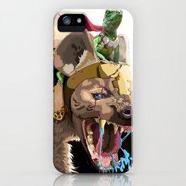 Pet Hyena iPhone Case