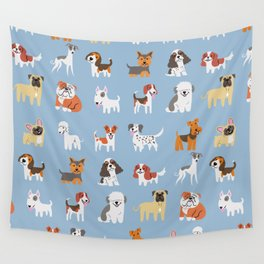 ENGLISH DOGS Wall Tapestry