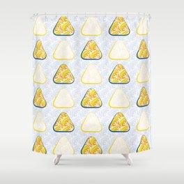 Triangular Circles Shower Curtain