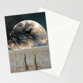 Autumn New Born Stationery Cards