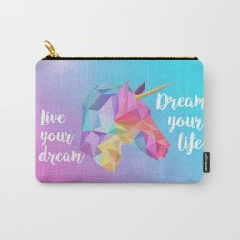 Pastel Unicorn Carry-All Pouch