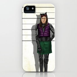 Amy Catwoman iPhone Case