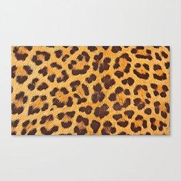 Its a leopard pattern Canvas Print