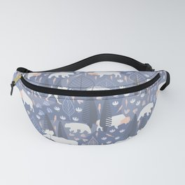 Yellowstone (Tide) Fanny Pack