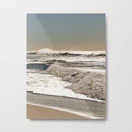 Wave to the wind - strong and powerful Metal Print