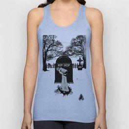 Hip-Hop Will NEVER Die : 2nd Edition Unisex Tank Top