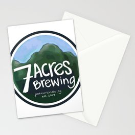 7 Acres Brewing Badge Stationery Cards
