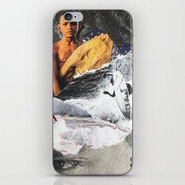 SURF HEAD iPhone Skin