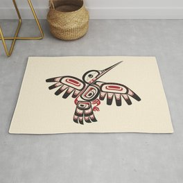Salish Coast Humming Bird Rug