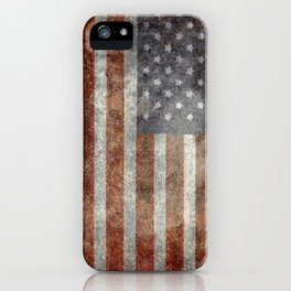 Old Glory, The Star Spangled Banner iPhone Case