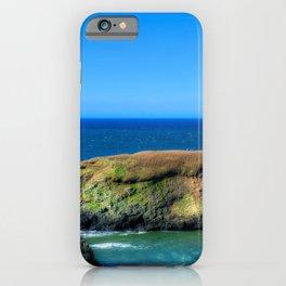 USA Yaquina Head HDR Nature Lighthouses Coast Stones HDRI stone iPhone Case
