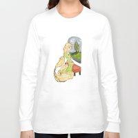 rapunzel Long Sleeve T-shirts featuring Rapunzel by Little Moon Dance