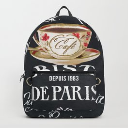 Cafe De Paris Backpack