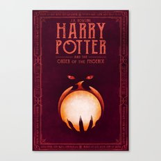 HP Book 5 (Book Cover) Canvas Print