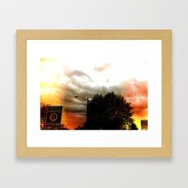 Welcomg to Lansing Framed Art Print