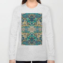 Emerald revolution geometry Long Sleeve T-shirt