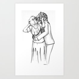 Stark County is For Lovers Art Print