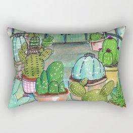 cactus are awesome Rectangular Pillow